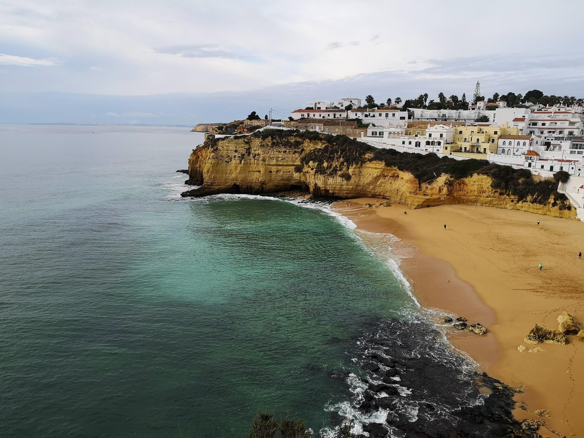 Direction l'Algarve en Hiver