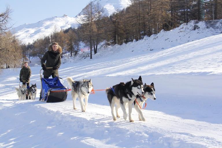 Séjour à la montagne en Italie, sur Sestrières